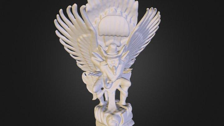Garuda Statue 3D Model