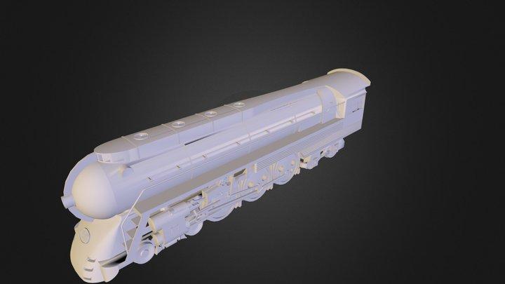Some Locomotive.obj 3D Model