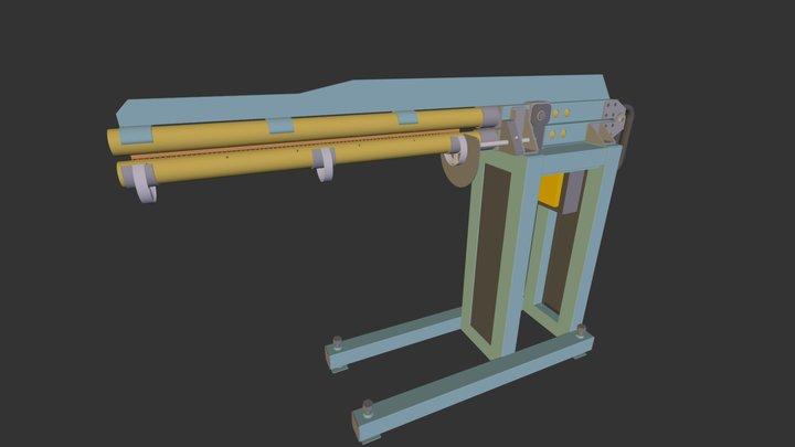Spot welding 3D Model