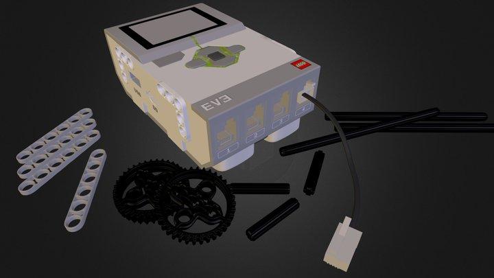 Lego Mindstorms Ev3 Starting 3D Model