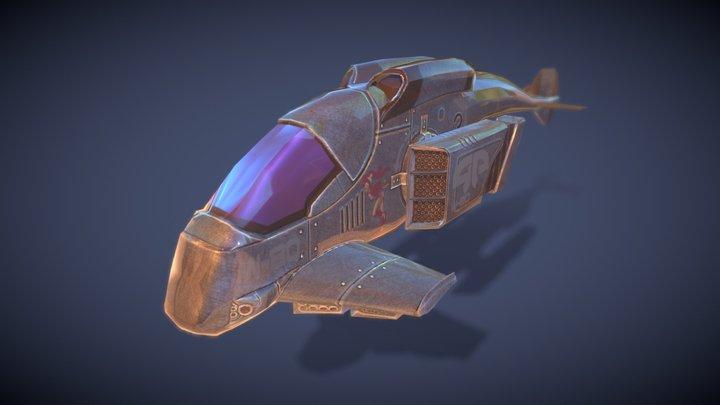 g police 3D Model