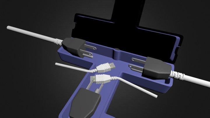 TimeOutLock5plugs 3D Model