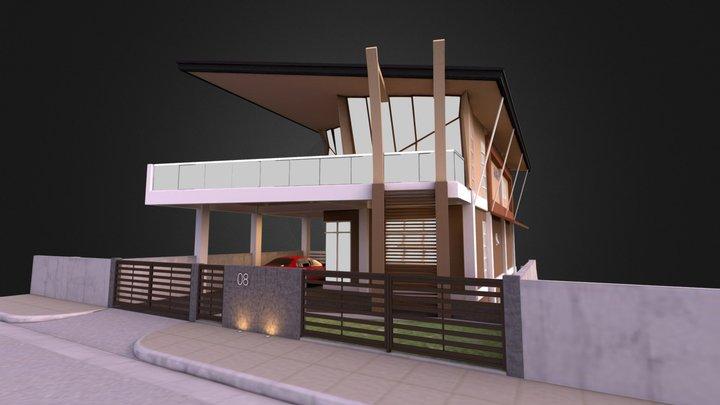 Residential Exterior 3D Model