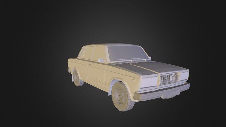 VAZ 2107.3ds 3D Model