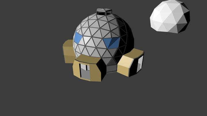 DOM-1_1 3D Model