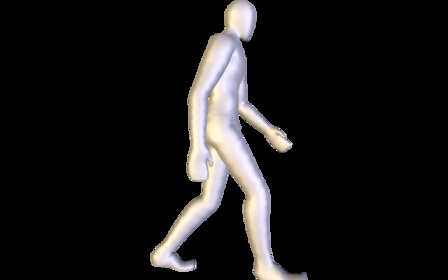 Man Walk 3D Model