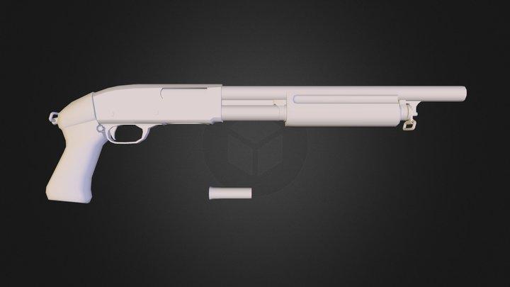 remington m31 final.obj 3D Model