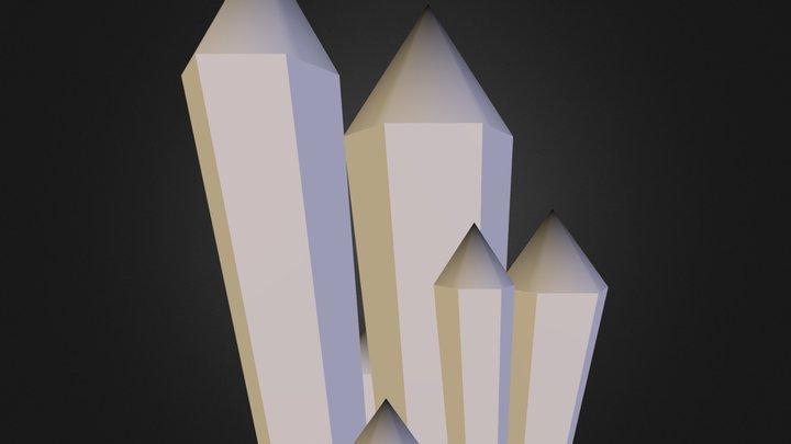 Crystals.obj 3D Model