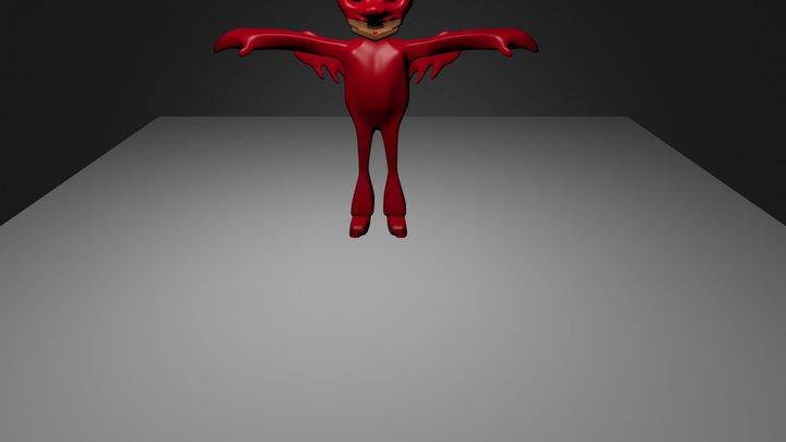 karakter .blend 3D Model