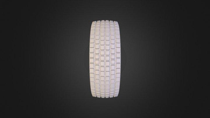 Tire & Wheel.obj 3D Model
