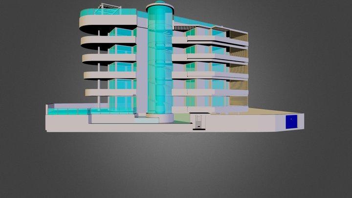 palazzina 3ds.3ds 3D Model