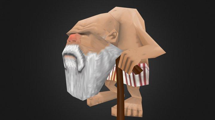 TGA - Nils Lind - Senile Santa 3D Model