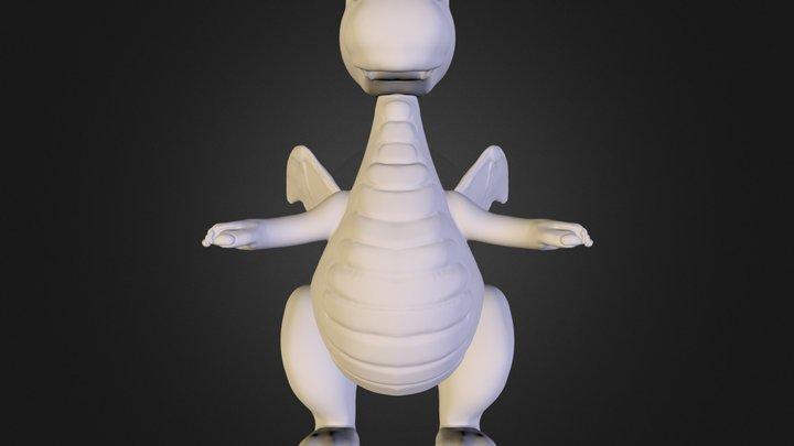 Little Dragon 3D Model