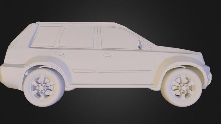 Xtrailsimple1.obj 3D Model