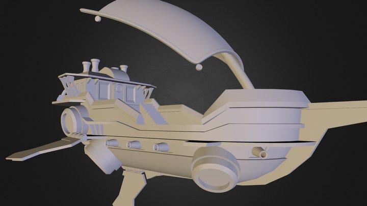 air ship 3D Model