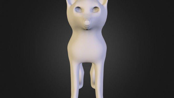 arcticWolf.obj 3D Model