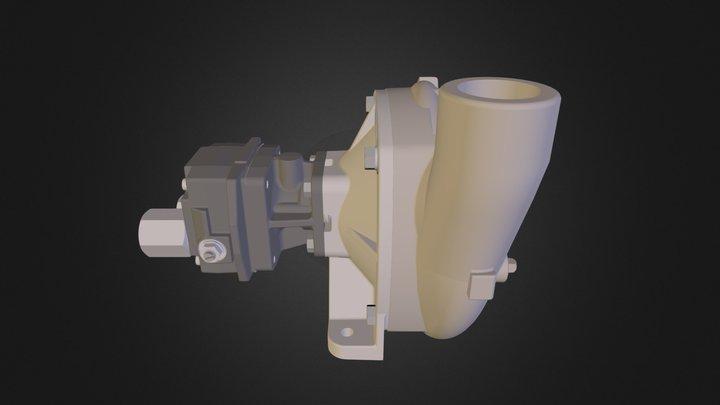 Hypro 9306S-HM5C (aço inox) 3D Model