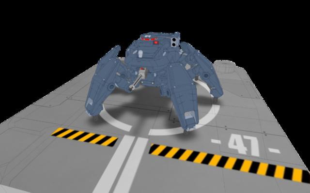 Gun Carrier 3D Model