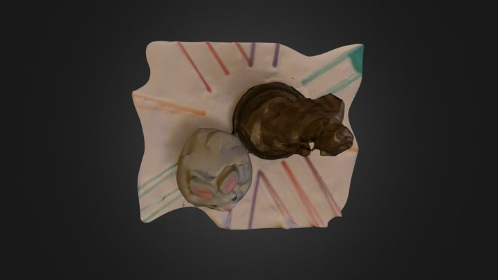 Holmes and Cat 3D Model