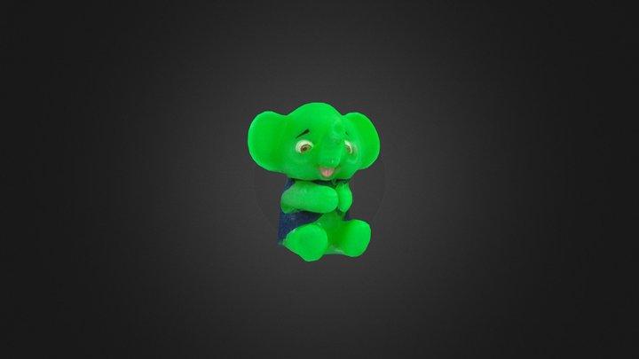 Elefantinho 3D Model