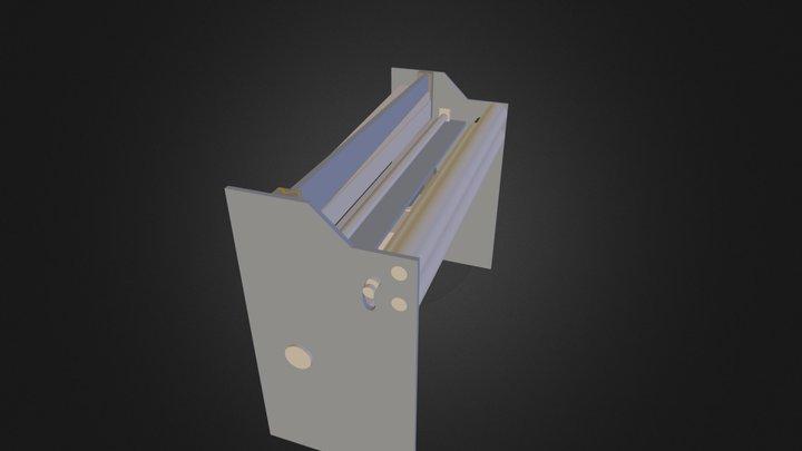 cizalla desdobladora 3D Model
