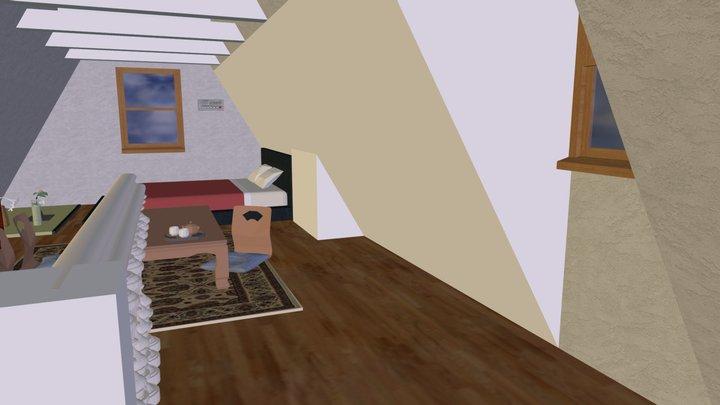 new interior for upper room 3D Model