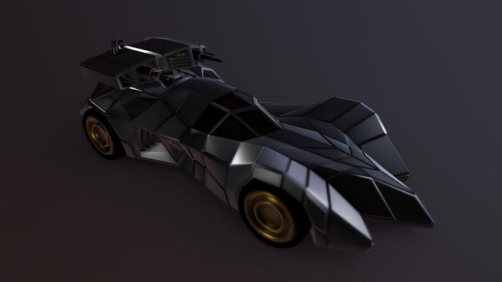 batmobile armored 3D Model