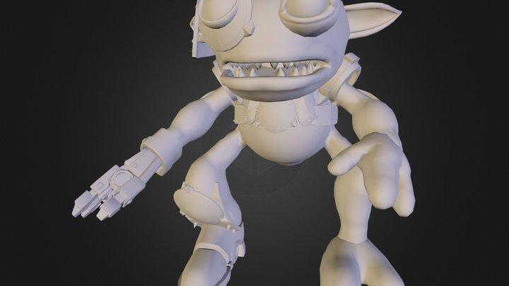 The Grox.dae 3D Model
