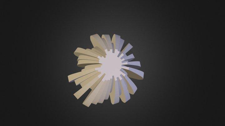 cylpanel02-003-centered.stl 3D Model