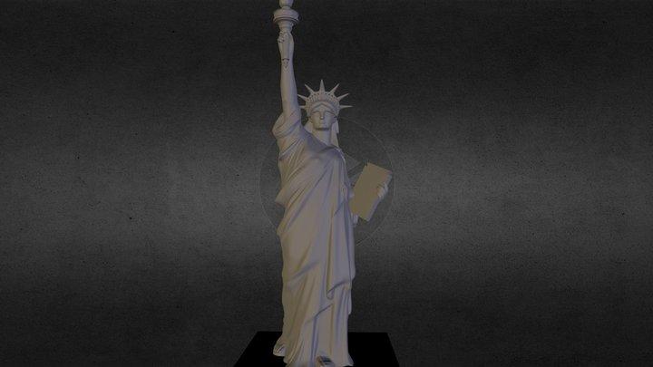 sat_liberty.obj 3D Model
