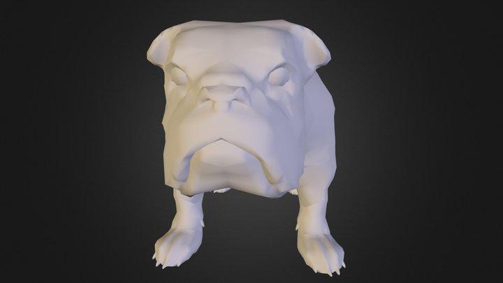 bulldog.obj 3D Model