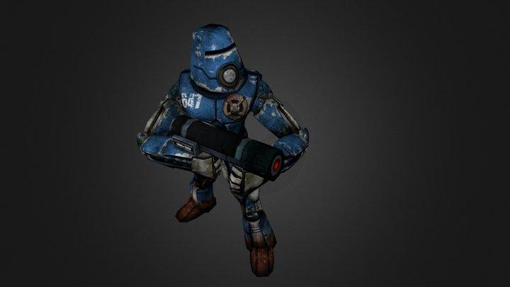 Infantry 3D Model