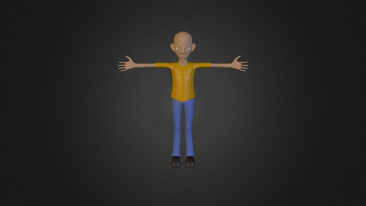 aniBoy2 3D Model
