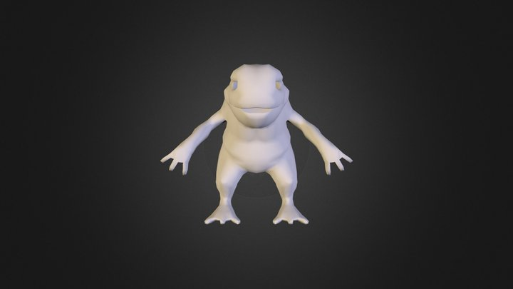 NewCroak2 3D Model