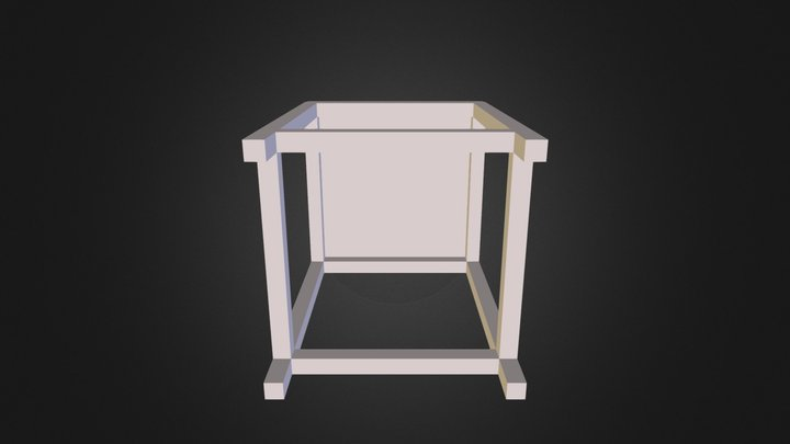 Center_Robot_Table_for_Octagon_Curie 3D Model