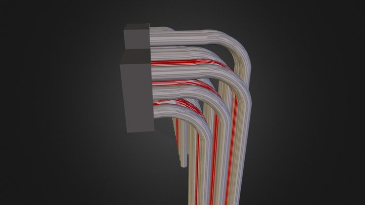 wires.dae 3D Model
