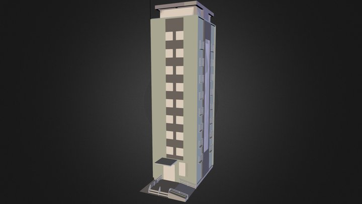 topcafe12.3ds 3D Model