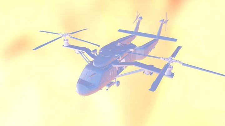UH-557 .blend 3D Model