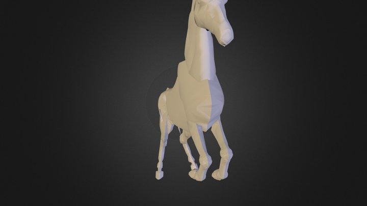 CABALLO H.dae 3D Model