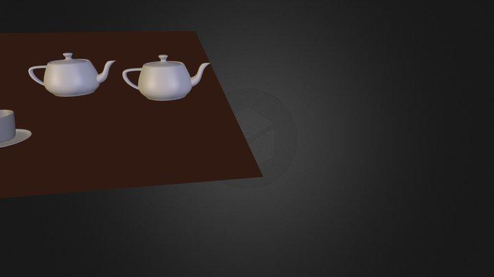 teapot_blend.blend 3D Model