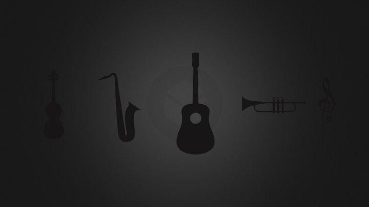 musical_shapes.3DS 3D Model