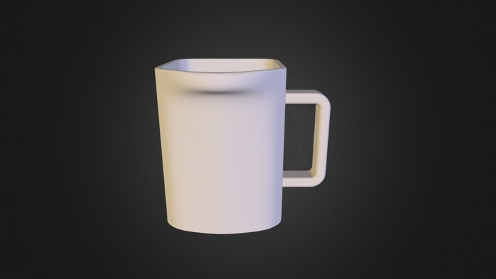 MUG(F)-right-stl 3D Model
