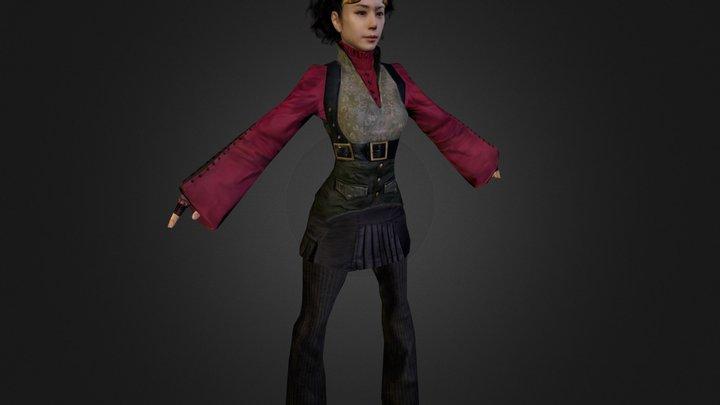 Y.Yaegoemon (default pose) 3D Model