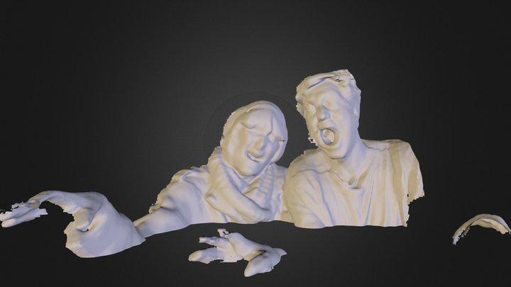 zombiesss1.dae 3D Model
