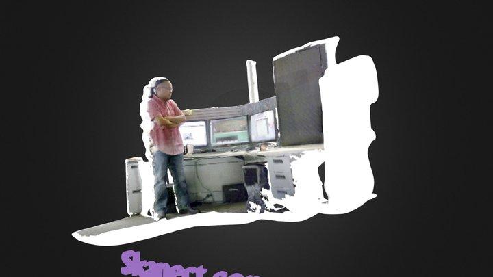 Office_Mike 3D Model