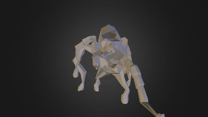 Arachnahorse 3D Model