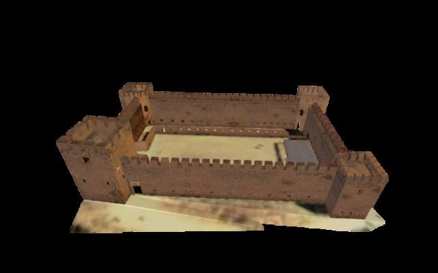 Fortress of Frangokastello - Crete 3D Model