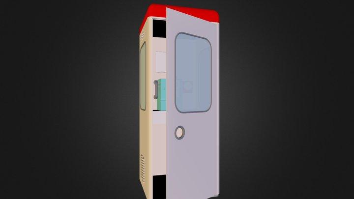 Old_TEL-BOX 3D Model