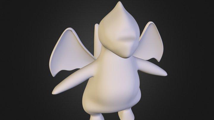 Dragonite_Unfinished.obj 3D Model