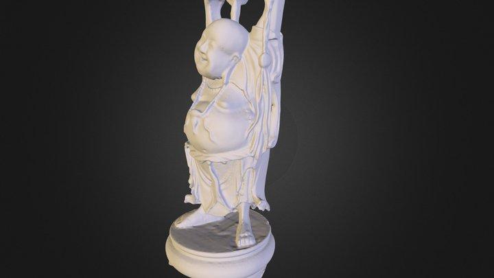 stanford happy buddha 3D Model